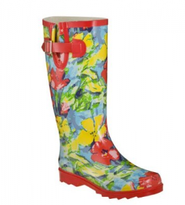 Floral Multi-Color Rain Boots from Target $24.99