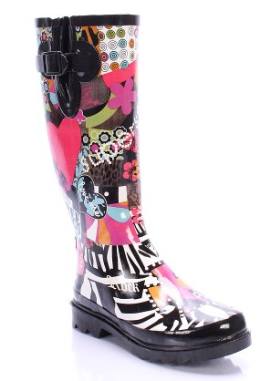 Colorful Rain Boots for Spring: Fashion Friday - NYC Single Mom