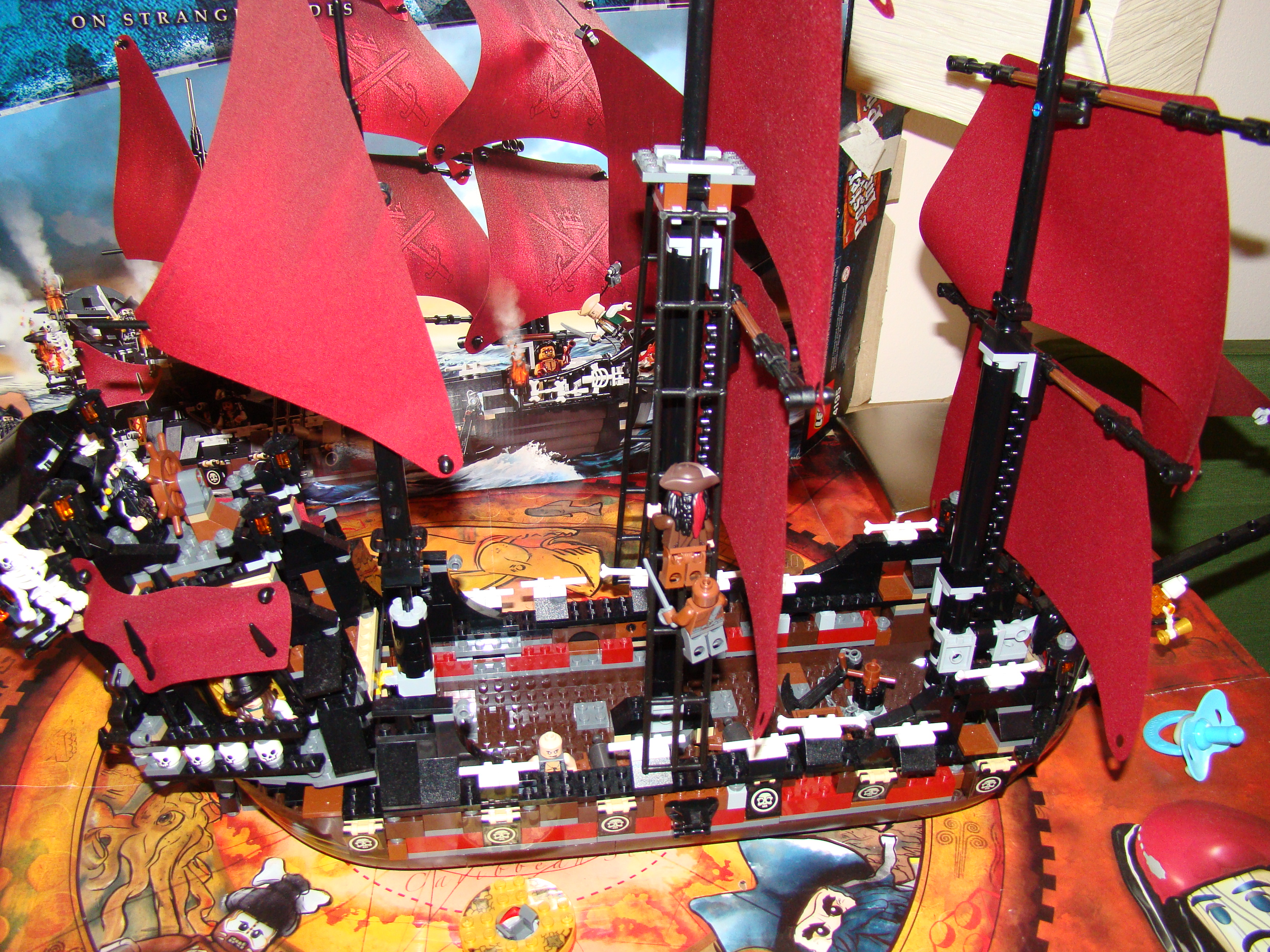 Lego Pirates of the Caribbean On Stranger Tide Queen Anne ...