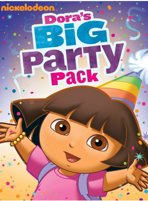 Dora the Explorer: Big Party Pack DVD