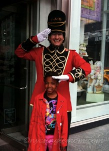 FAO Schwarz Toy Soldier Doorman - (photo:nycsinglemom.com)