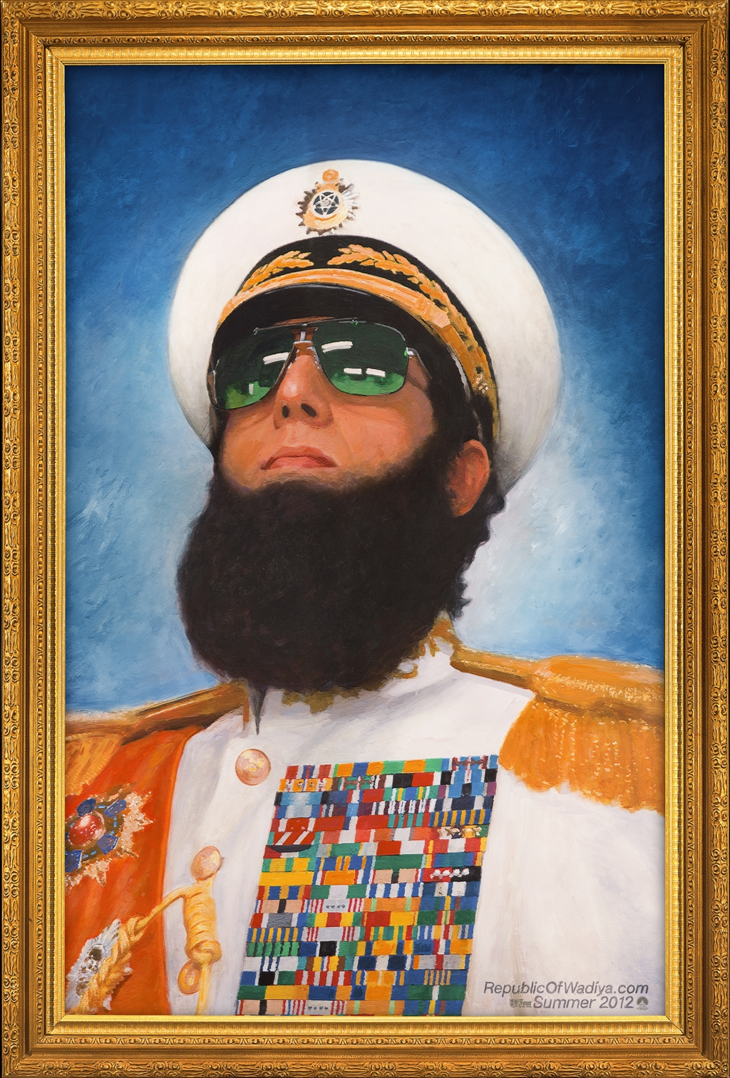 Newest Trailer from The Dictator starring Sasha Baron ...