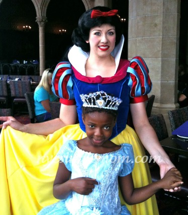disney princess breakfast at cinderella's castle at the