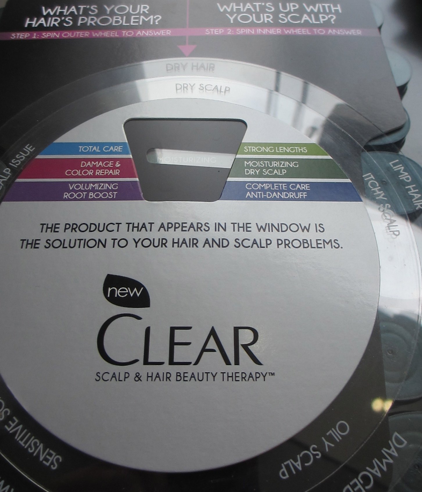 New Clear Scalp and Hair Therapy at Duane Reade