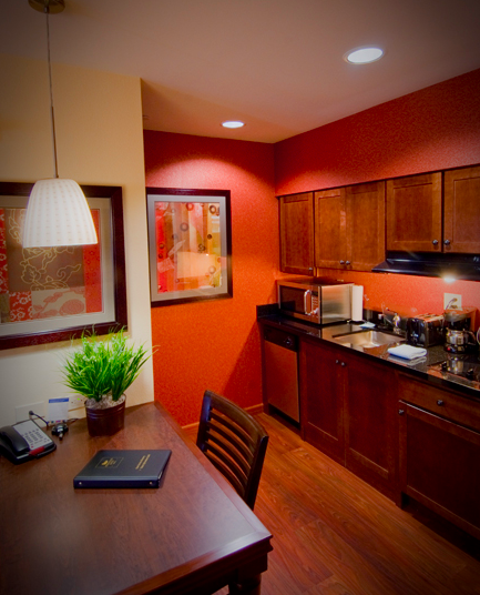 Kitchen Suite: Homewood Suites By Hilton Rockville-Gaithersburg, Suite