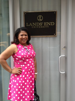momtrends.com, lands'  End backpacks,  back to school supplies, blogHer 12 Recap