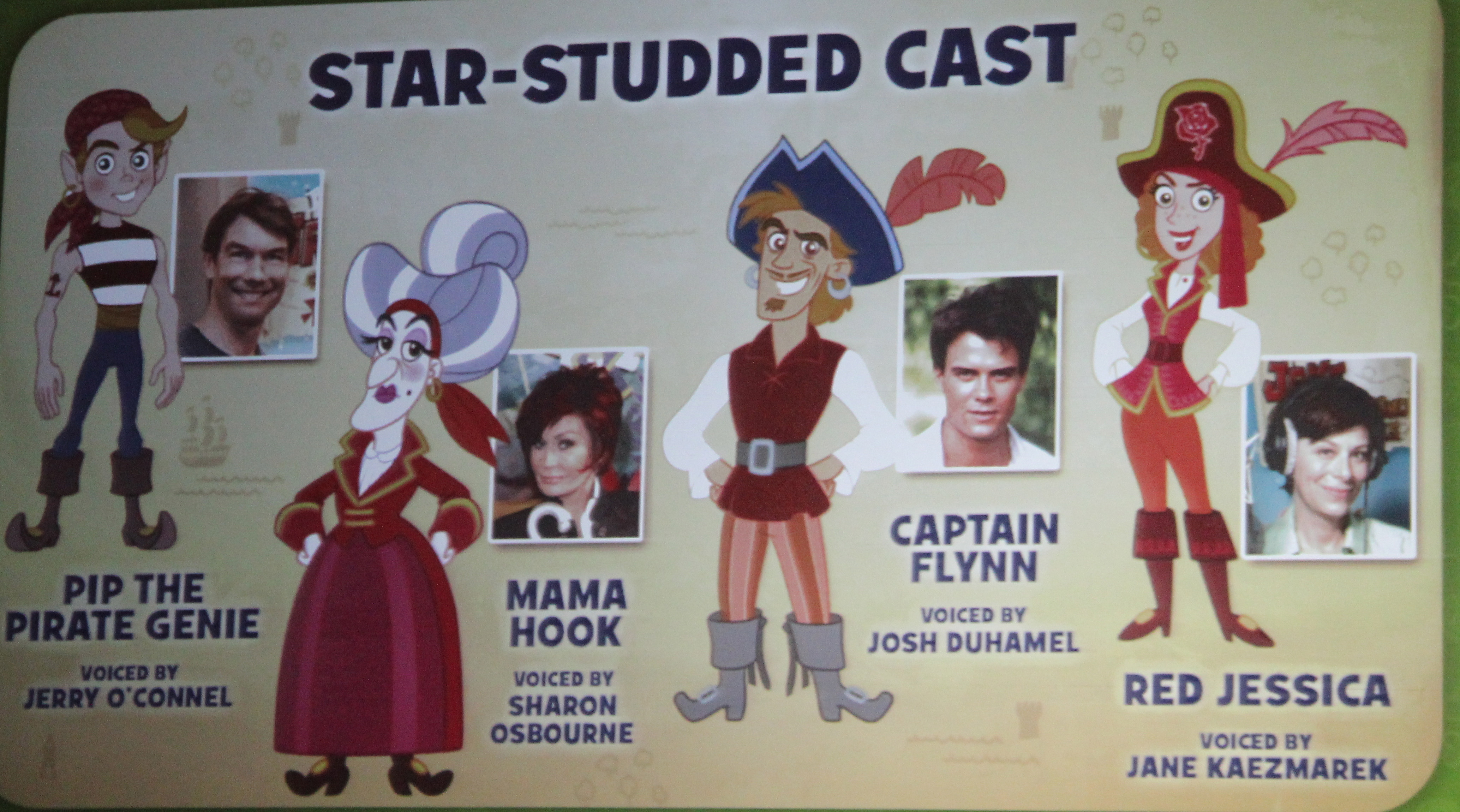 Jake and the neverland pirates cast - photo#2