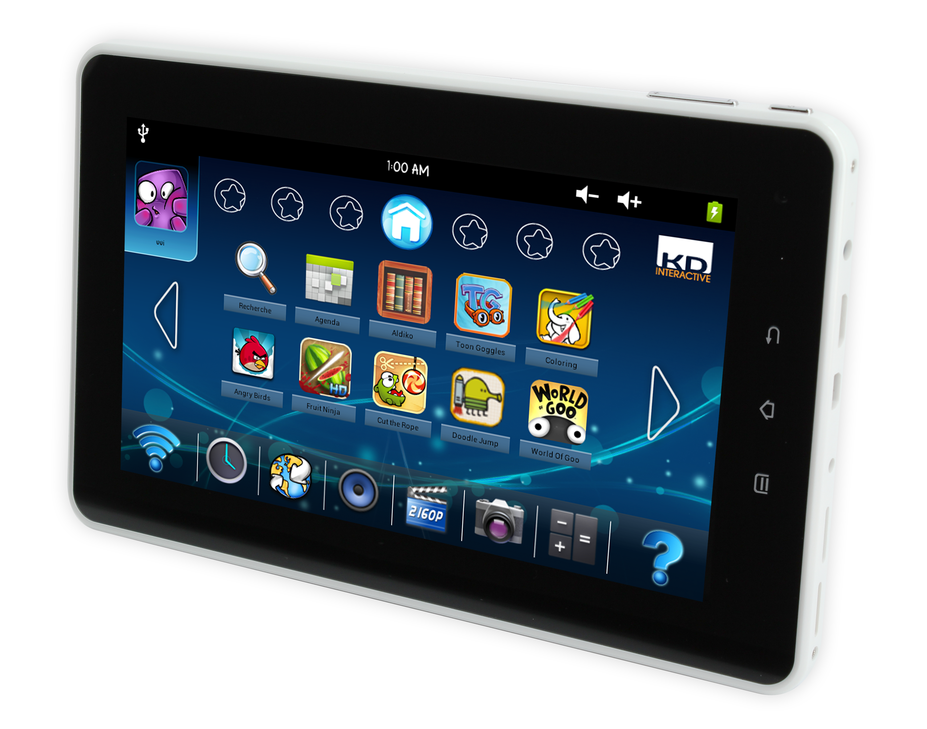Fragen what is a good android tablet for kids working another