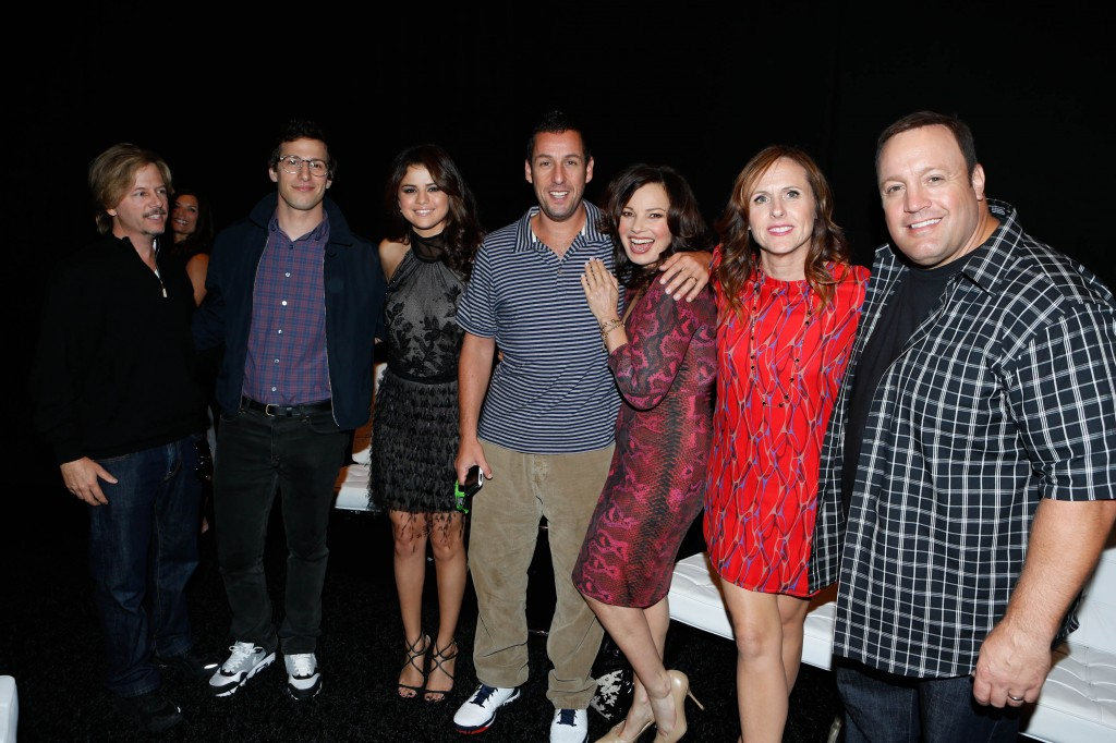 David Spade, Andy Samberg, Selena Gomez, Adam Sandler, Fran Drescher, Molly Shannon and Kevin James,  Toronto International Film Festival,  Princess of Wales Theatre, nyc single mom