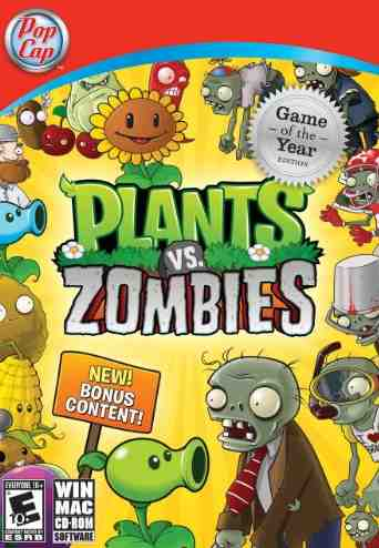 Pop Cap, Plants vs Zombies Video Game, Pop Cap Games