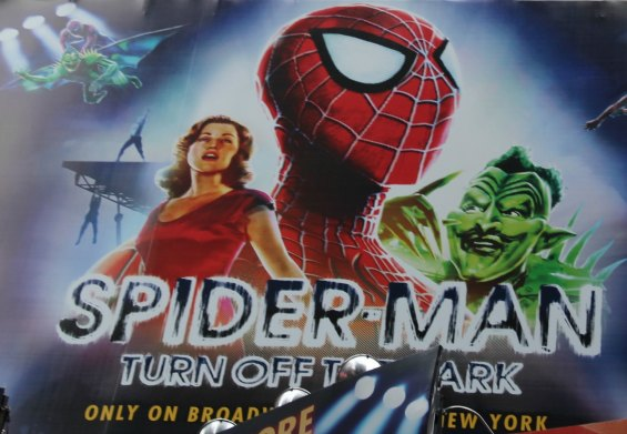 Spiderman on Broadway, reasons to live in new york city, New York, Love this City, NYC, Memorable, Favorite Place, MasterCard