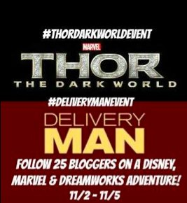 Thor The Dark World Red Carpet Premiere, Delivery Man Event