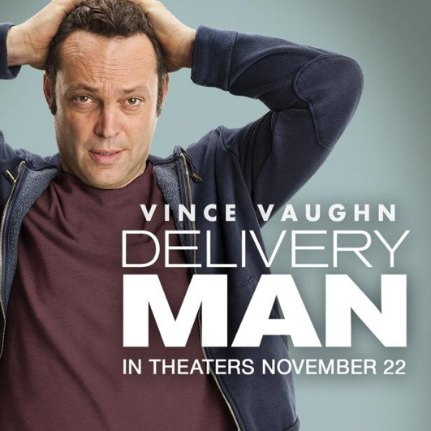 Vince vaughn delivery man poster