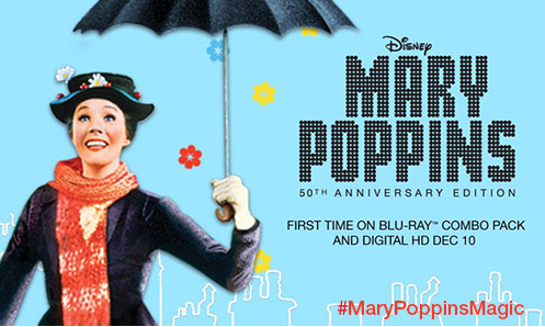 GIVEAWAY - Why Mary Poppins Still Resonates Today - MARY POPPINS 50th Anniversary Edition now available on Blu-ray  #MaryPoppinsMagic