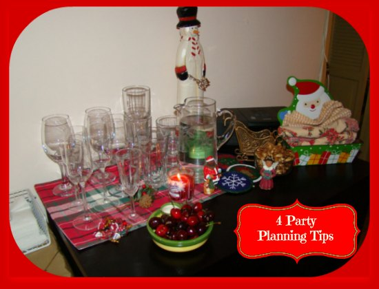 5 Holiday Party Planning Tips #partyplanningideas