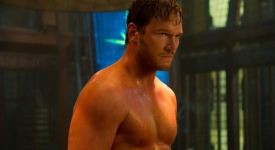 Guardians of the Galaxy Chris Pratt shirtless
