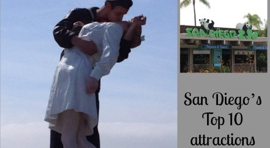 San Diego's Top 10 attractions Featured