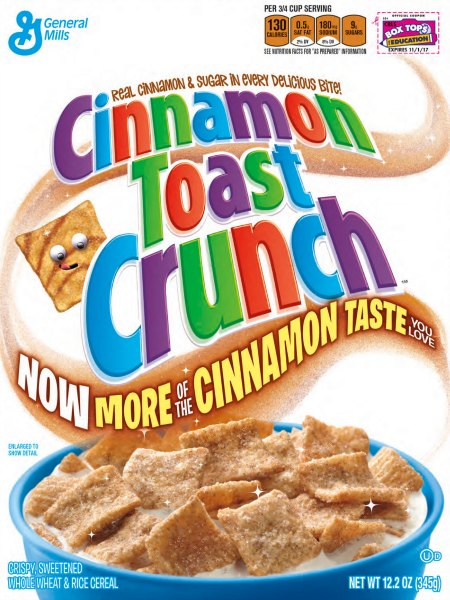 Cinnamon Toast Crunch Turns 30 With a Cinnablast @CTCSquares # ...