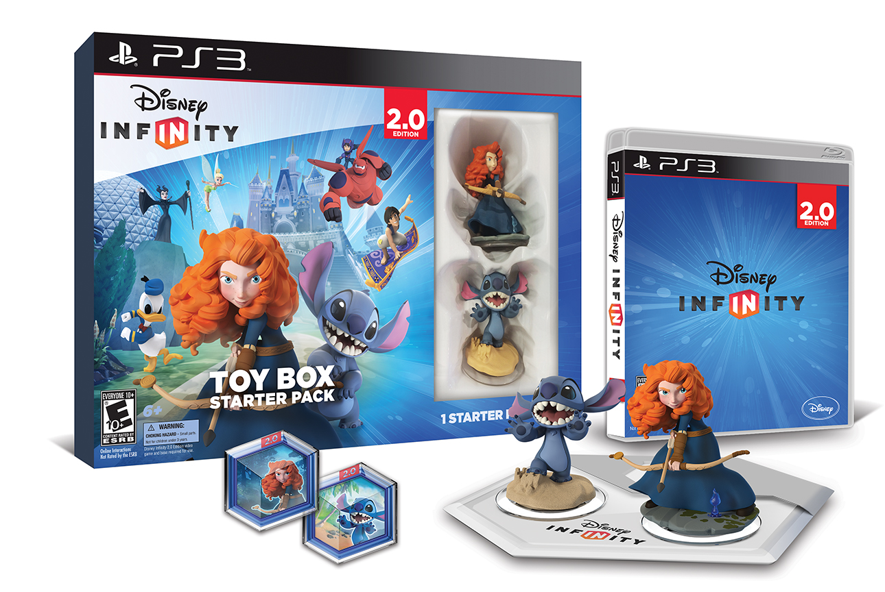 Disney Infinity Toy Box Starter Pack 2 0 Edition
