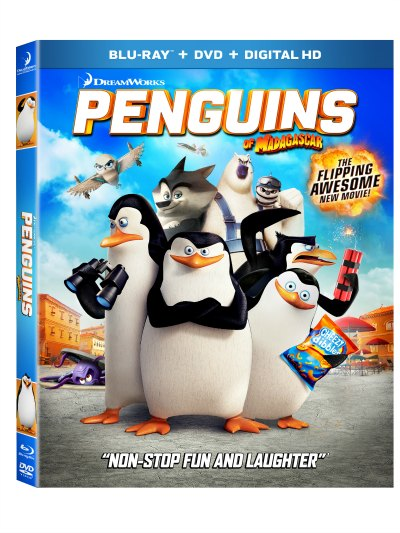 DREAMWORKS PENGUINS OF MADAGASCAR ARRIVES ON BLU-RAY & DVD MARCH 17 #PenguinsInsider