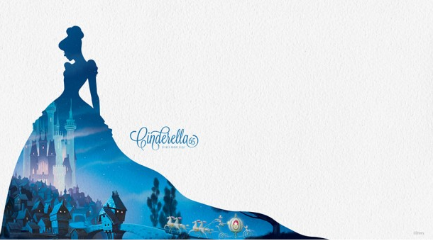 Celebrate the Anniversary of 'Cinderella' with a Desktop/Mobile Wallpaper #Cinderella