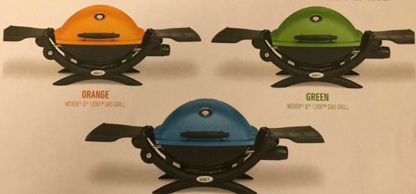 Go Colorful with the Weber Q 1200 Gas Grills @WeberGrills