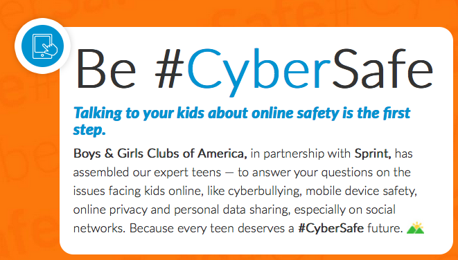 How Safe Is Your Child Online? Plus Boys and Girls Club iPad Mini Giveaway #CyberSafe #IC #ad