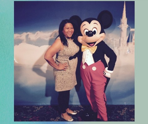 Who Can Resist Mickey Mouse?  #WordlessWednesday #DSMMoms