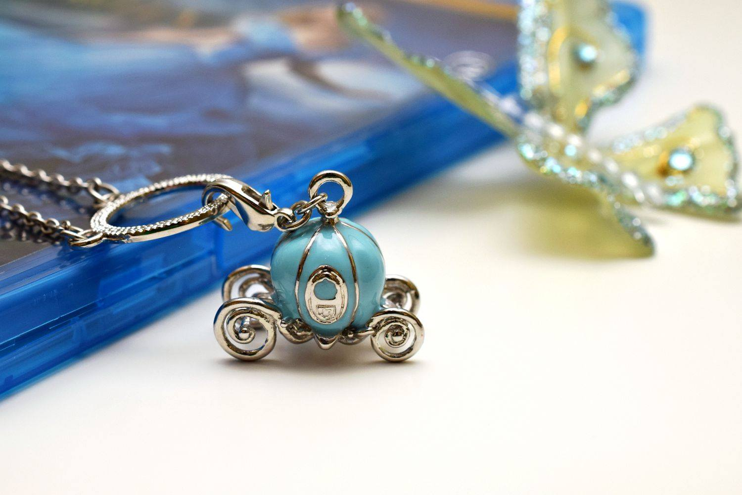 Coach charm necklace for sale when you buy cinderella