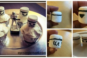 Easy To Make Star Wars Stormtrooper Cupcakes #TheForceAwakens #StarWars
