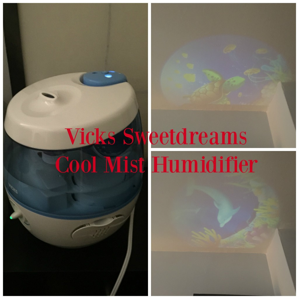 VICKS Sweet Dreams Humidifier Combining Congestion Relief and Fun  #C00B22