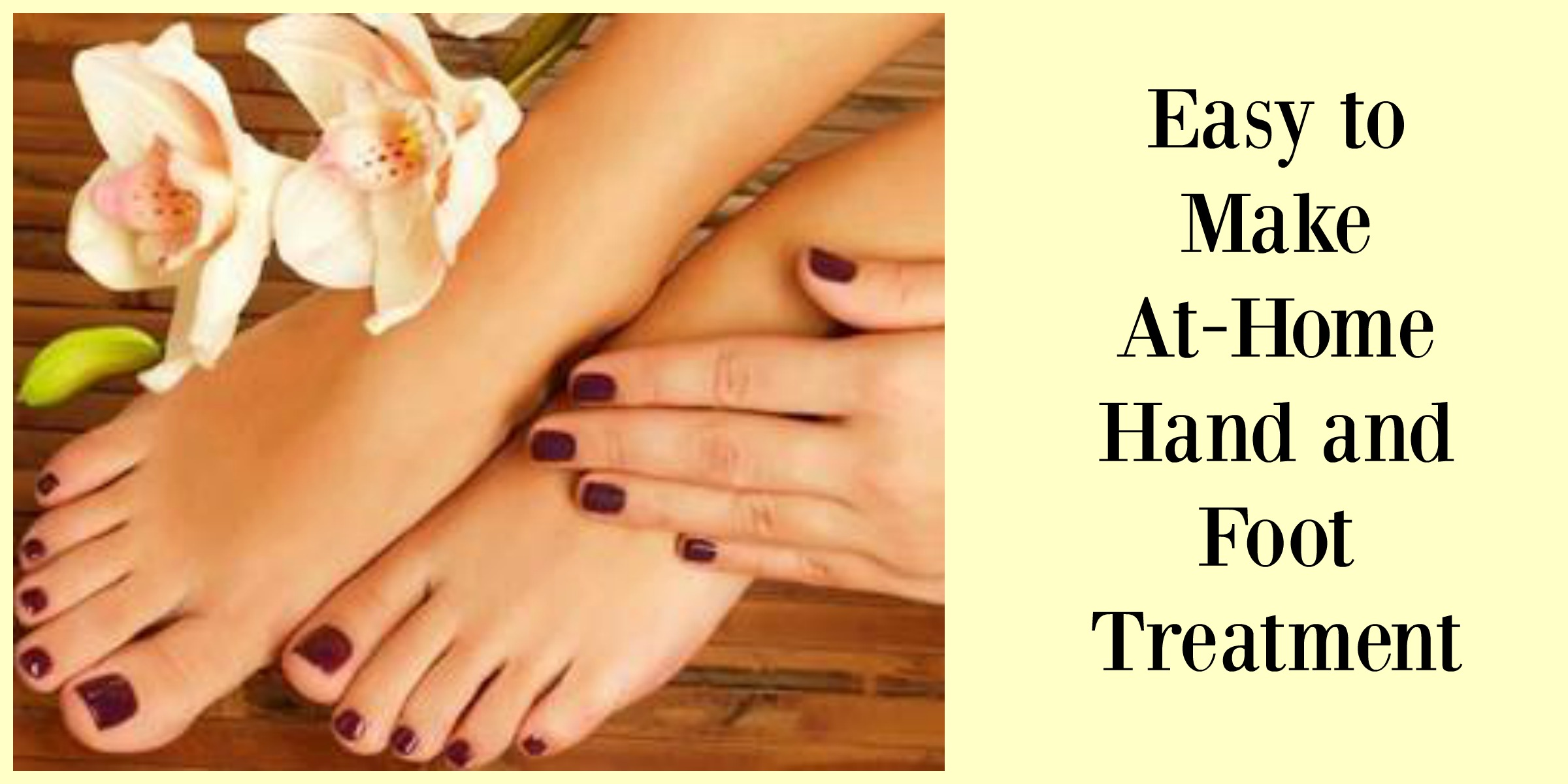 Easy At Home Hot Cream Hand and Foot Treatment