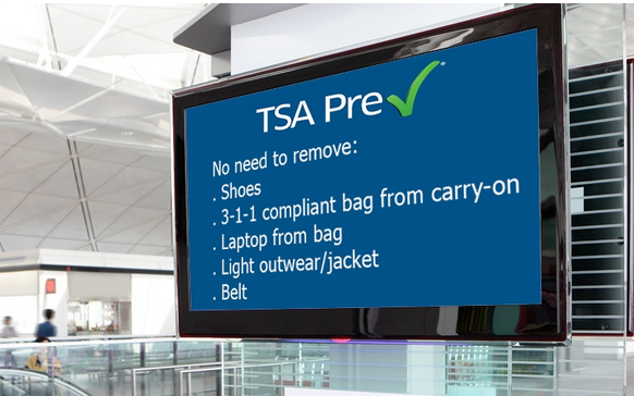 TSA Pre-Check or Global Entry Will Save You Time and Frustration at Airport Security @AskTSA