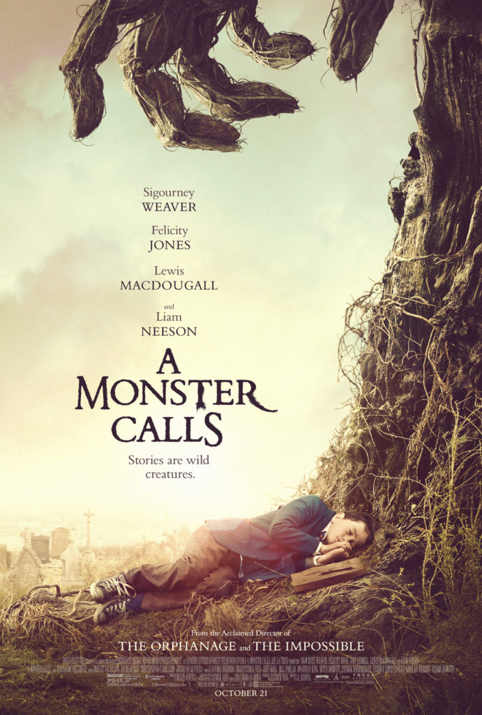 Check out the poster For A MONSTER CALLS Opening This Fall  #AMonsterCalls