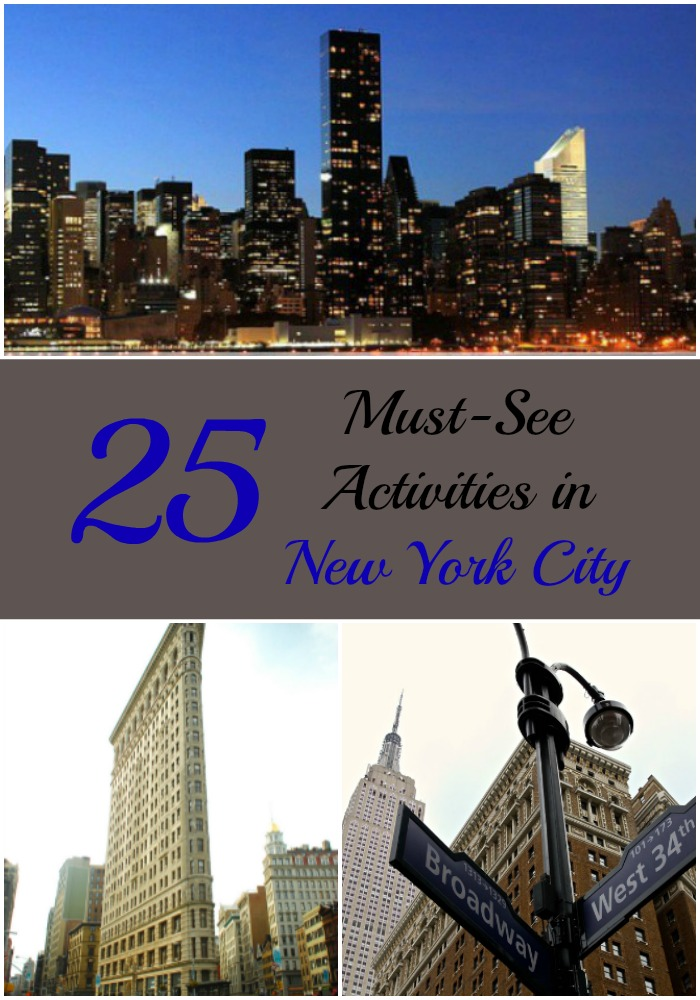 25 must see activities in new york city nyc nyc single mom