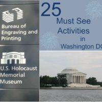 25 Must See Activities in  Washington D.C. @WashingtonDC