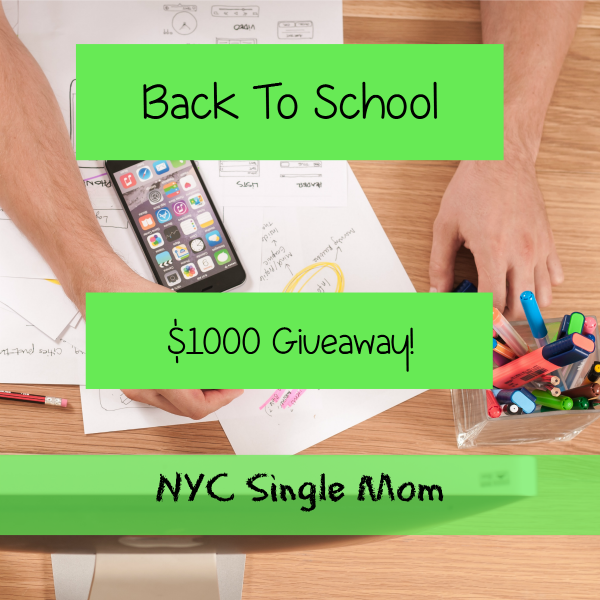 BACK TO SCHOOL $1000 GIVEAWAY