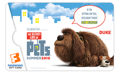GIVEAWAY: The Secret Life of Pets Fandango Collectible Gift Cards Are So Cute @Fandango #ad #TheSecretLifeofPets