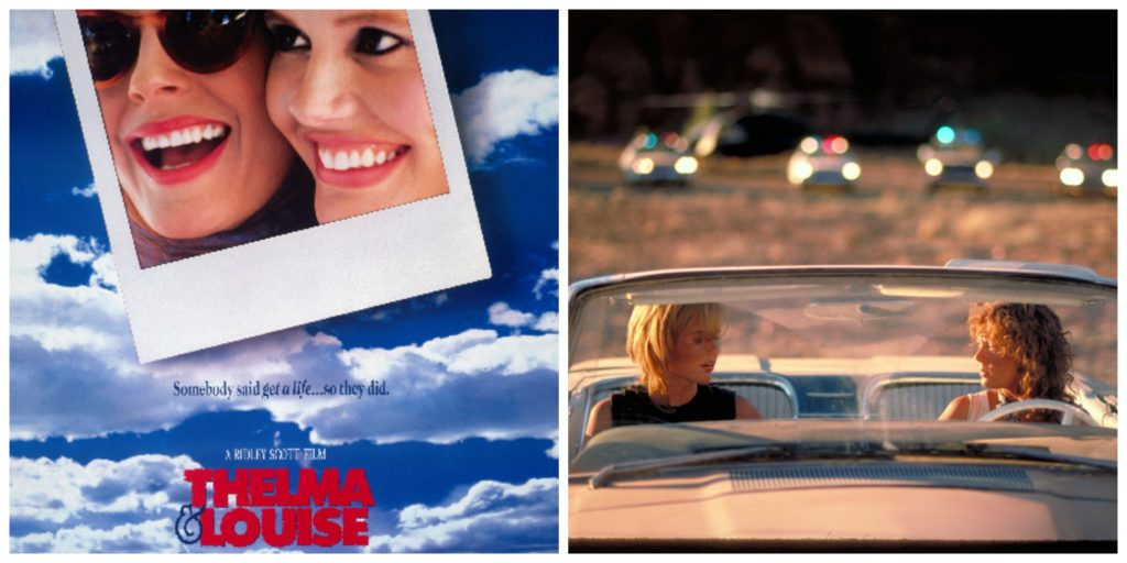 """an analysis of the movie thelma and louise by callie khouri Thelma and louise writer: callie khouri """"the cliff"""" – thelma and louise this is so much a part of a movie experience that viewers."""