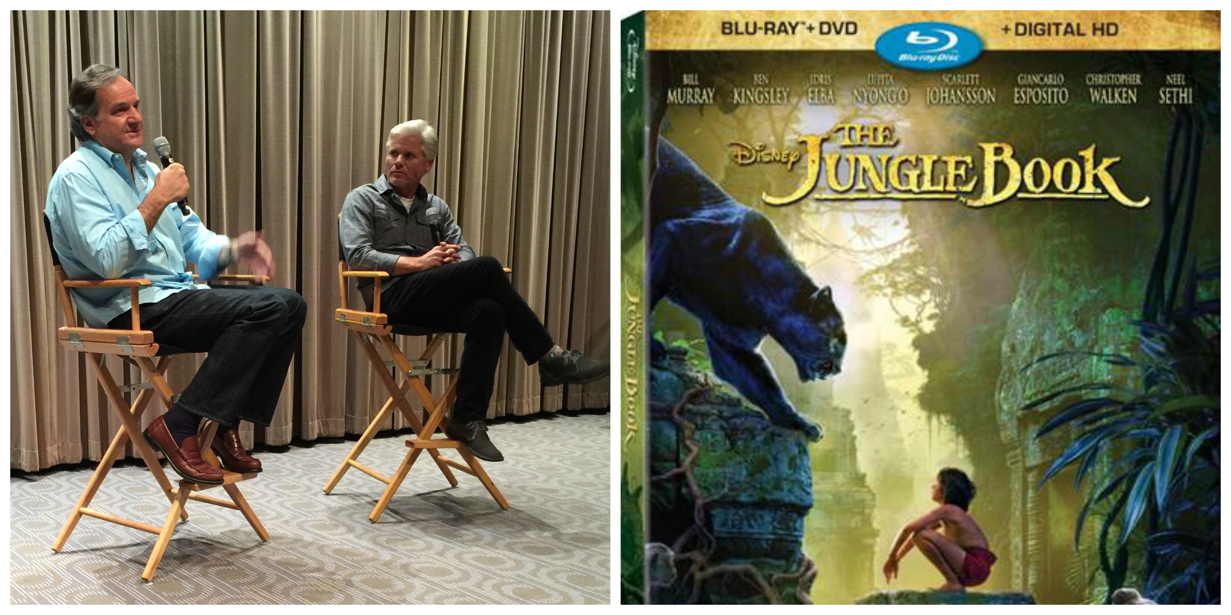 The Jungle Book Q&A with Producer Brigham Taylor and Visual Effects Supervisor Rob Legato #JungleBookBluray