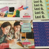 GIVEAWAY: Don't Forget to Add Mabel's Labels to Your Back to School Checklist @mabelhood