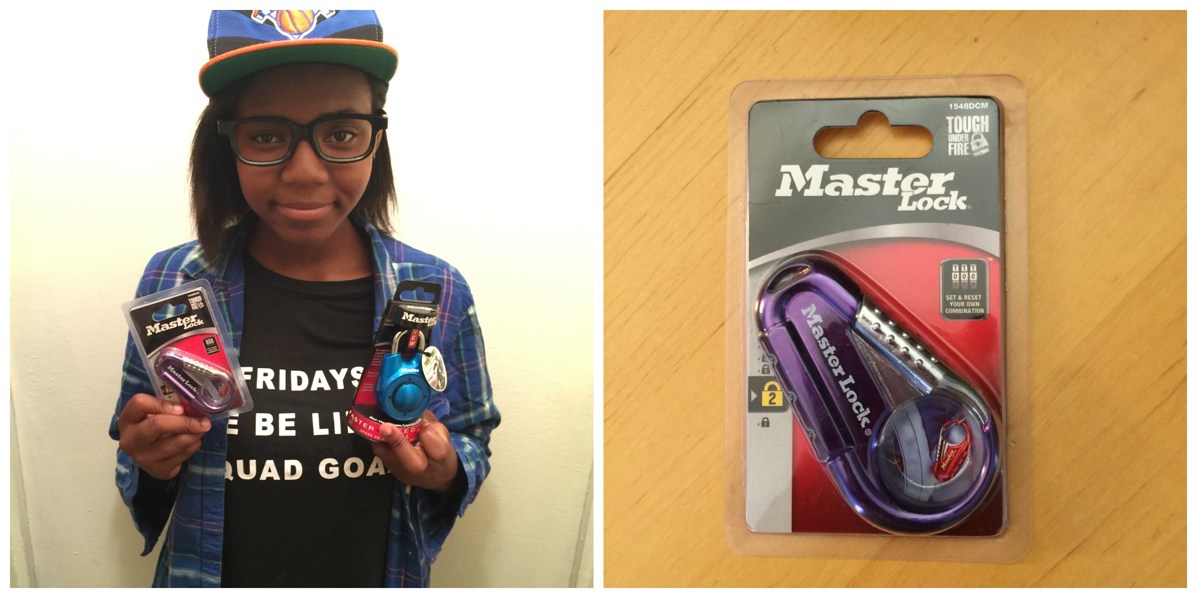 GIVEAWAY: Don't Forget MasterLock For Your Back To School Needs @MasterLockUS