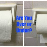 Which Camp Do You Fall Into? Over or Under?? @Charmin #EnjoyTheGo #ad