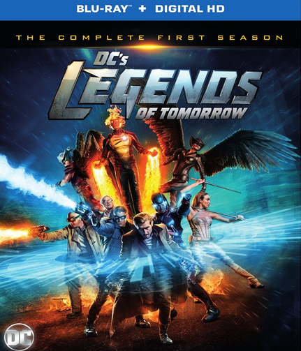 GIVEAWAY: DC Legends of Tomorrow: The Complete First Season