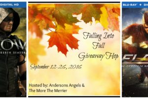 FUN FALL GIVEAWAY FROM 20 BLOGGERS (ARROW AND FLASH DVD/ BLU-RAY/HD ) #FallingIntoFall