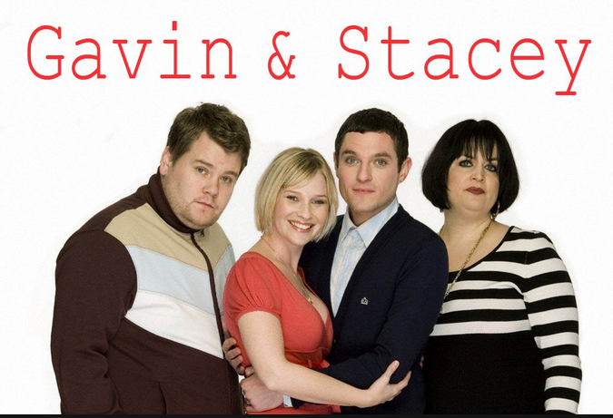 """James Corden, Gavin and Stacey"""