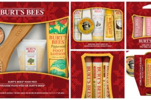 Holiday Gift Sets from Burt's Bee Perfect for Everyone On Your Gift List @BurtBees