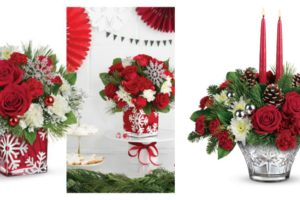Merry Christmas Giveaway Hop & $75 Teleflora Giveaway- Teleflora's New Christmas Floral Arrangements Are Perfect for Home and Holiday Gift Giving @Teleflora #Teleflora #YouDelivered