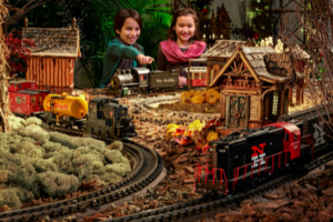 There is Still Time To Visit The 25th Annual  Holiday Train Show  Open Until Jan 16 @NYBG