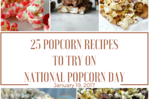 25 Popcorn Must Try Recipes Just in Time for National Popcorn Day
